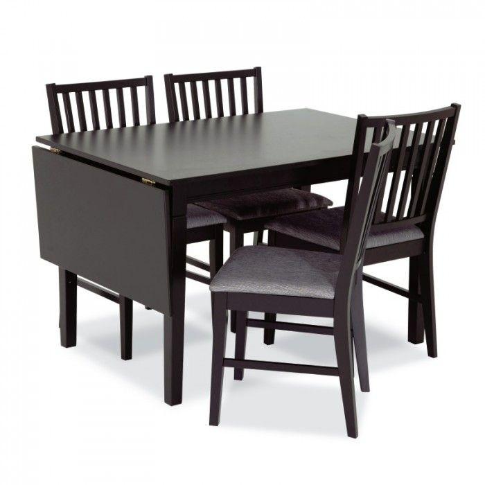 kjøkkenbord m/4 stoler 80x120-160 cm - MARTINSEN AS - Vienna - Møbelringen