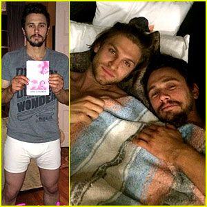James franco in bed selfie | Male Celebrity Obsession ...