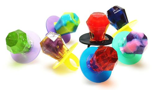 "Ring Pop -- It's ASCA's diamond anniversary! Something with ""bling,"" ""rock,"" etc.... ????"