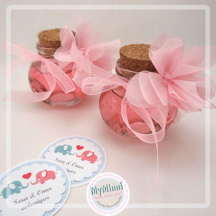 Zambak kolonyalı mini parfüm şişeleri www.myminni.com