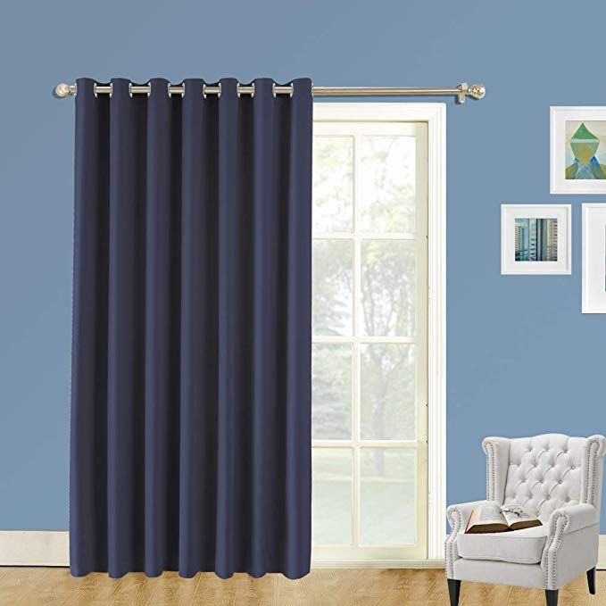 Amazon Com Lifonder Sliding Glass Door Curtains Extra Wide