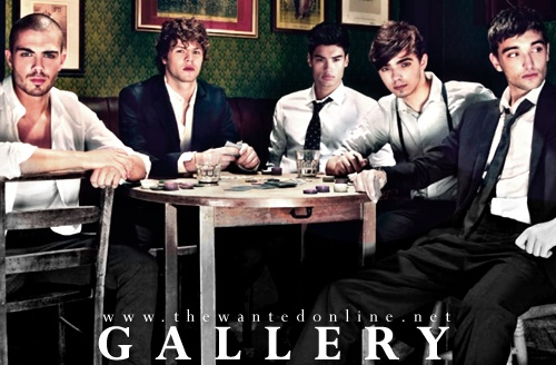 The Wanted-oh they're definitely wanted!!