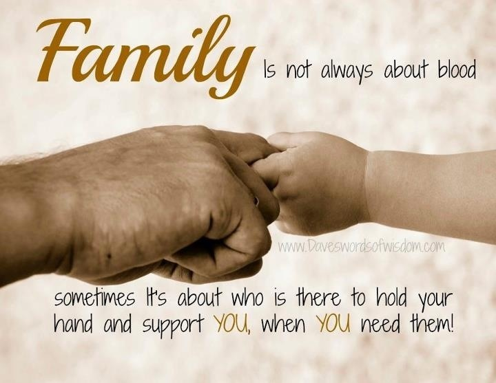 Family support! and I've got it!!! Inspiring Quotes
