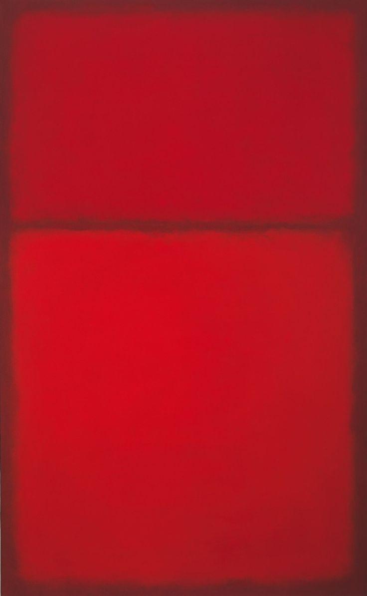 bildwerk:  Mark Rothko Untitled, 1957-63 Öl auf Leinwand 170,8 x 105,4 cm Privatbesitz, Courtesy of Gagosian Gallery