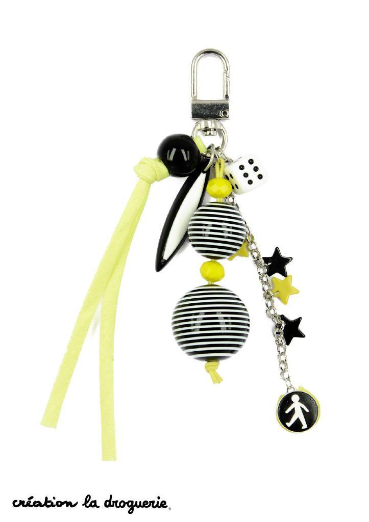 Une super idée ce porte-clef !! #ladroguerie #bijoux #porteclef