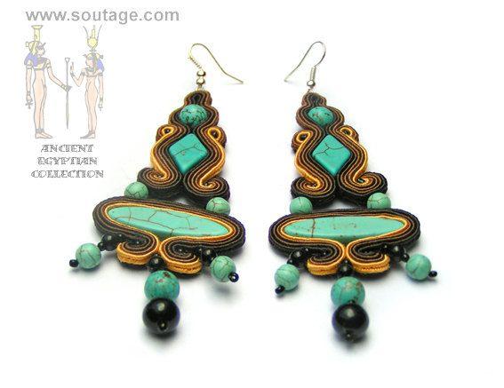 Isis earrings - Sutasz-Anka
