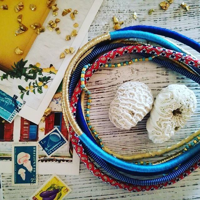 New in our necklace family on Etsy. Receive him well!  Link in bio.  #lunariejewellery #handmade #handmadejewelry #etsy #etsystore #jewellery #designer #instagood #necklace #boho #bohostyle #style #fashion #woman #vacation #colorful #cute #vacationmemories #newbrand #followme #stamps #sea #photooftheday #instaphoto