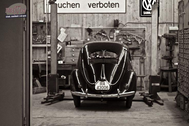 17 best ideas about volkswagen beetle vintage on pinterest for Garage volkswagen marennes 17