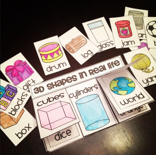 Not sure where to incorporate this exactly but this could be a cool way for students to relate their 3D shape learning to real world examples!