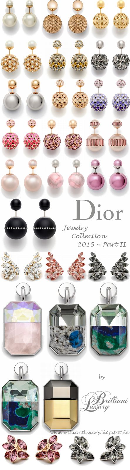 Textura Cores, Formas, Unidade, Luxo Brilliant Luxury * Dior Jewelry Collection 2015 ~ Part II