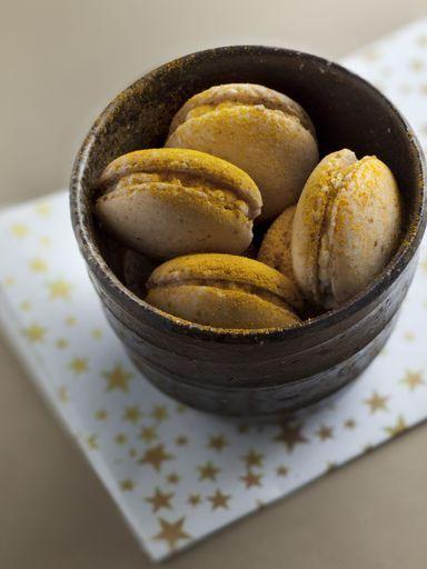 Macarons chèvre / miel : Recette de Macarons chèvre / miel - Marmiton