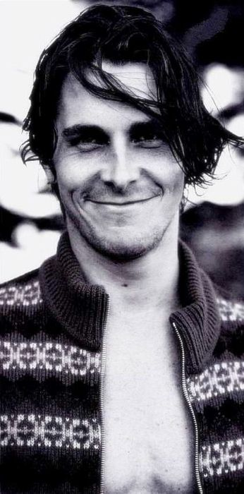 Cristian Bale, my one never ending celebrity crush.
