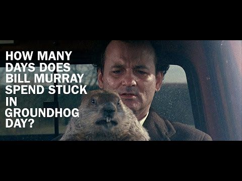 Holy Crap! - Video Breaks Down How Long Phil Spent Stuck In GROUNDHOG DAY — GeekTyrant
