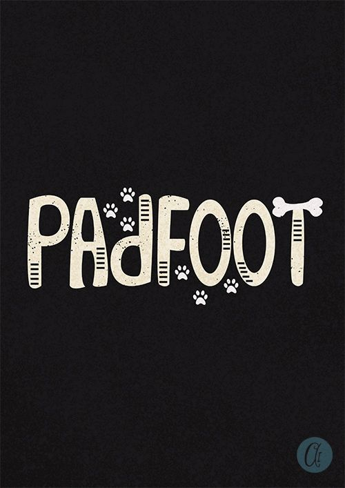 Harry Potter's Padfoot