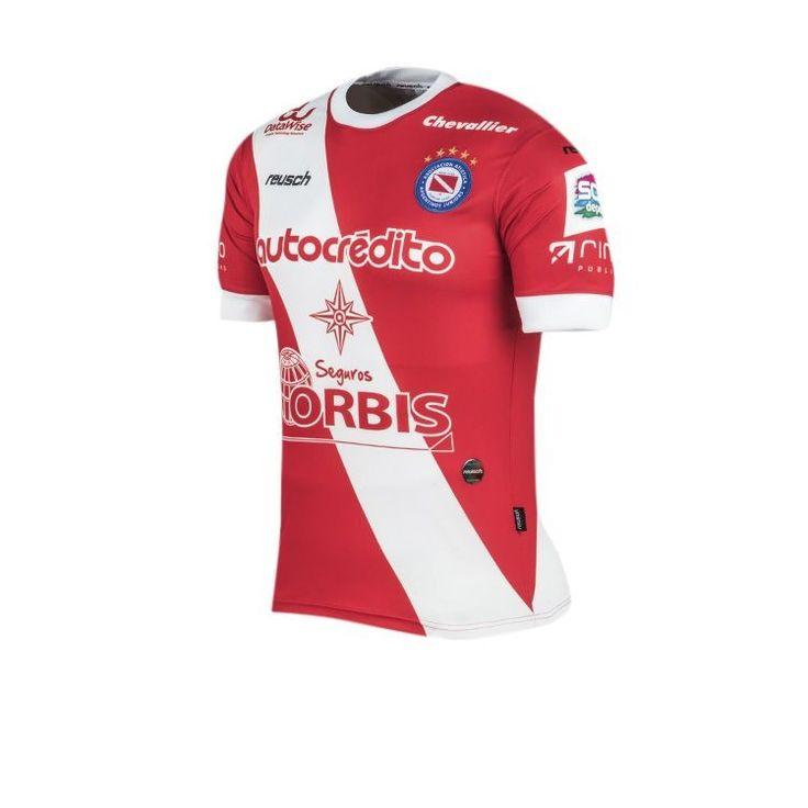 Argentina soccer superliga 2017 Argentinos Juniors home jersey