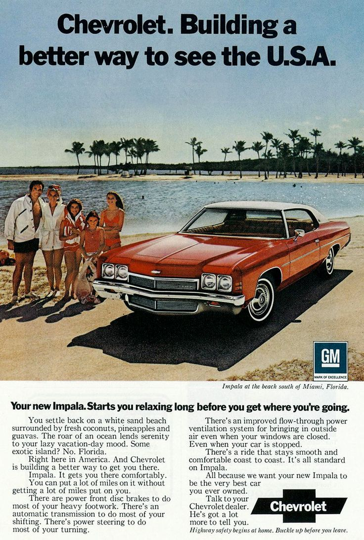 1972 chevrolet a better way to see the usa