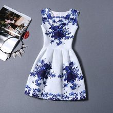 Significa Que Vendem Hot Moda Sem Mangas Bola Grown Vestidos de Mulheres Elegantes vestido de festa Magro Assentamento Sólida Verão vestido estilo(China (Mainland))