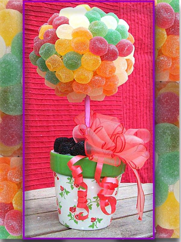 Mis dulces preferidos: ARBOLITO DE GOMINOLAS
