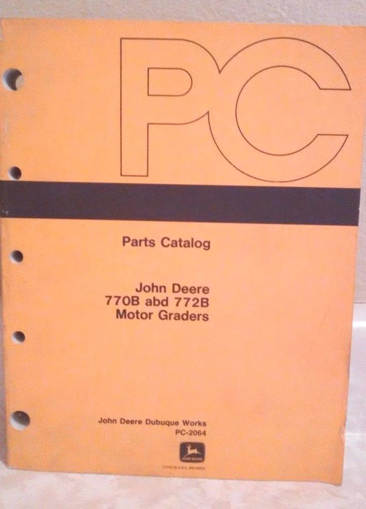 The 25 best parts catalog ideas on pinterest sks parts product john deere parts catalog 770b 772b motor graders pc2064 manual book fandeluxe Images