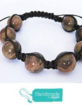 Picture Jasper Gemstone Shamballa Style Bracelet from Anneth Designs https://www.amazon.co.uk/dp/B01MG6AZIB/ref=hnd_sw_r_pi_dp_eyi-ybWCTJSD4 #handmadeatamazon
