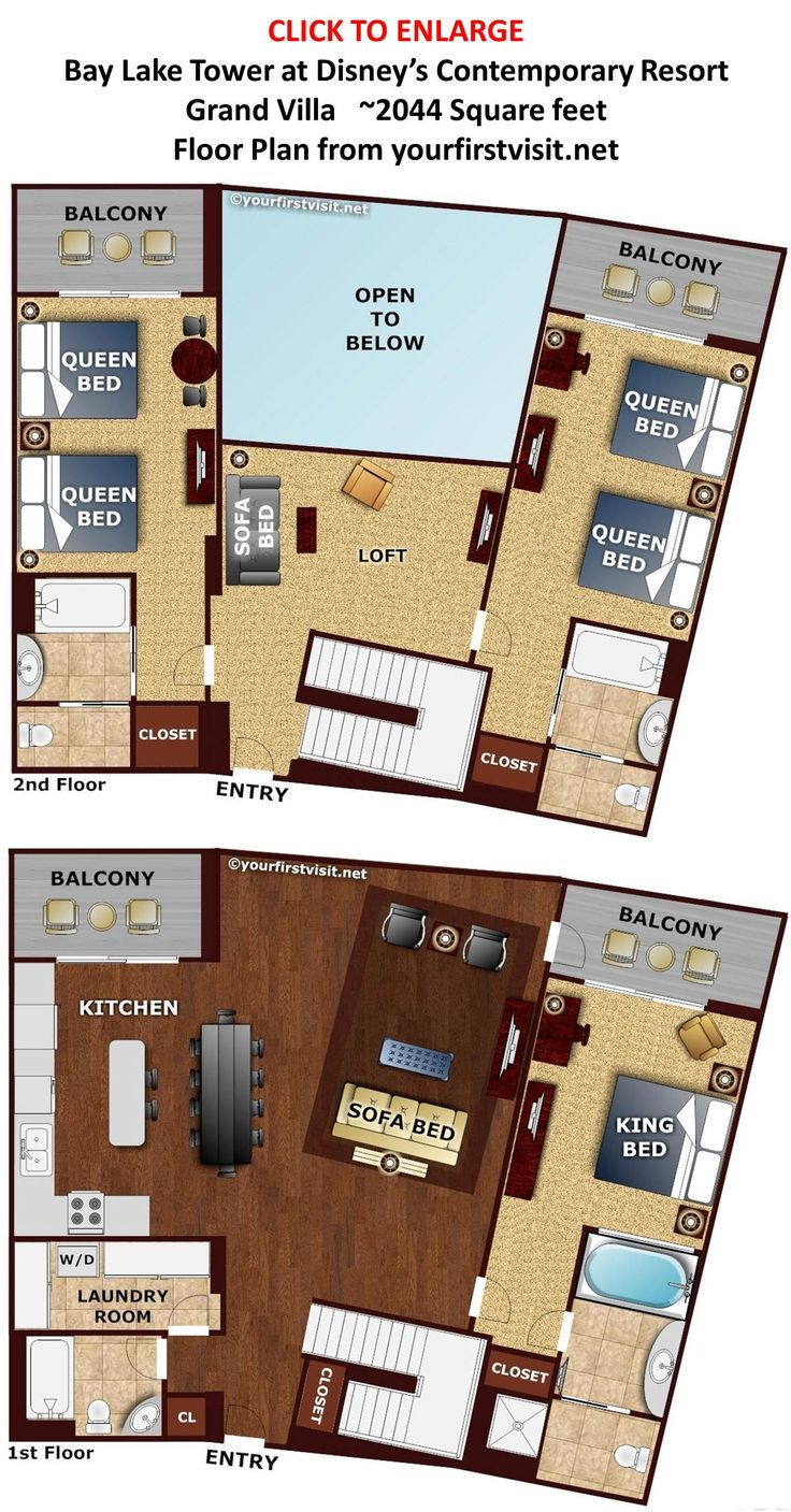 16 best Treehouse Floor Plan images on Pinterest | Disney vacations ...
