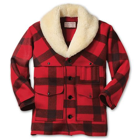 Filson wool packer coat. Marlboro Mann personified. Yep - this is a man's coat. Filson does do women's stuff but it is not half as neat as the men's stuff. This is a coat that will last you long enough to pass it down to your kids and your grandkids. And it is made in the USA.