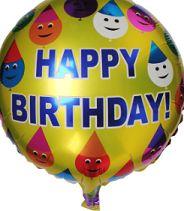 Palloncino con scritta buon compleanno. http://s.click.aliexpress.com/e/urrV3VB