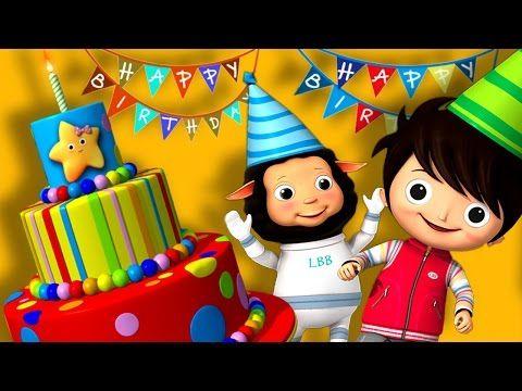Happy Birthday Song   Original Song by LittleBabyBum - YouTube