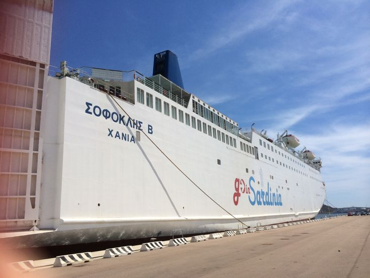 Nave Sophocles V - flotta GoinSardinia
