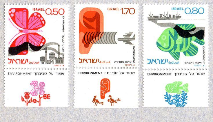 Israeli stamps.