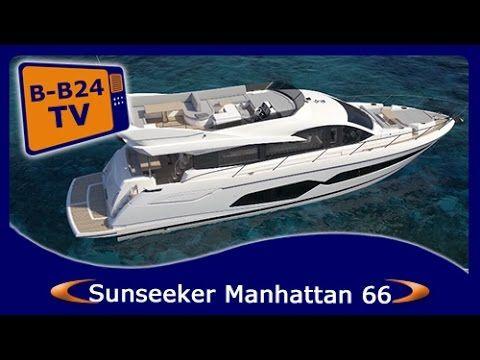 **BEST Boats24** Sunseeker Manhattan 66 Flybridge New Model 2017