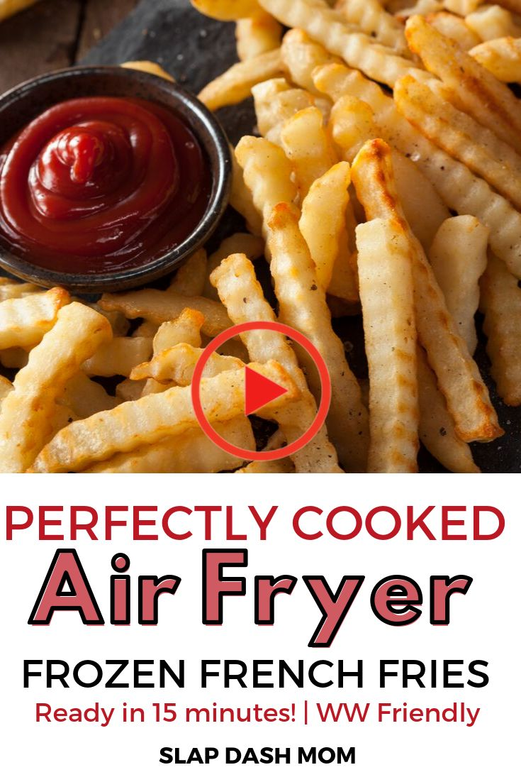 Air Fryer Frozen French Fries in 2020 Air fryer recipes