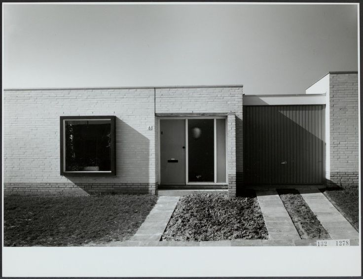 Patiowoningen Malberg Maastricht 1968
