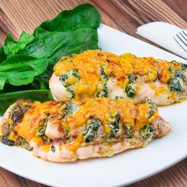 Combinația între brânză și spanac este preferată de mulți, în special cea folosită cu piept de pui. Rezultatul este unul apetisant căruia nu poți să-i reziști. Pregătiți această rețetă extraordinară la prânz sau cină și