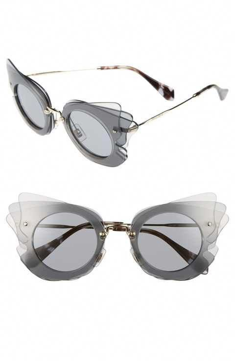 d82d84f8ca56 Miu Miu 63mm Layered Butterfly Sunglasses  MiuMiu