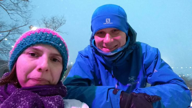 With beloved wife in Arkonka