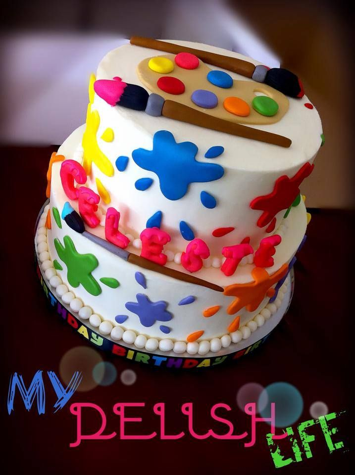 Cake Ideas For Artist : Best 25+ Artist cake ideas on Pinterest Painter cake ...