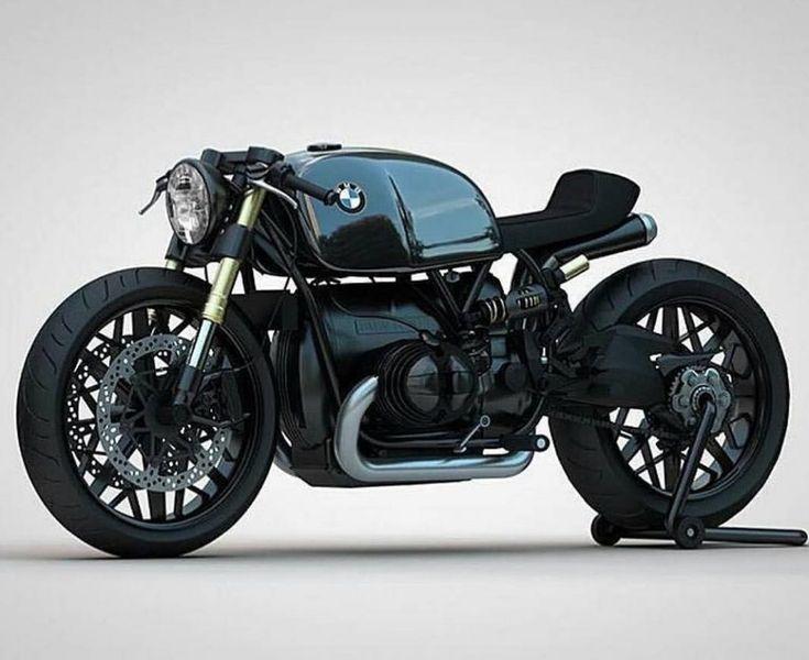 Custom BMW Concept Motorcycle by Ziggy Moto – #bmw #Concept #Custom #Moto #motor…