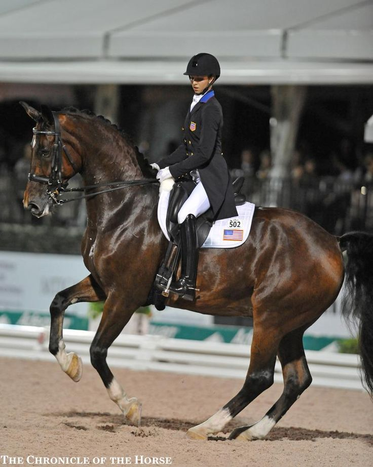 2016 Adequan Global Dressage Festival 12 Nations Cup—Friday Laura Graves and Verdades logged the highest score ever at the Adequan Global Dressage Festival with an 82.80 percent in the CDIO*** Grand Prix Freestyle. Photo by Kimberly Loushin | The Chronicle of the Horse
