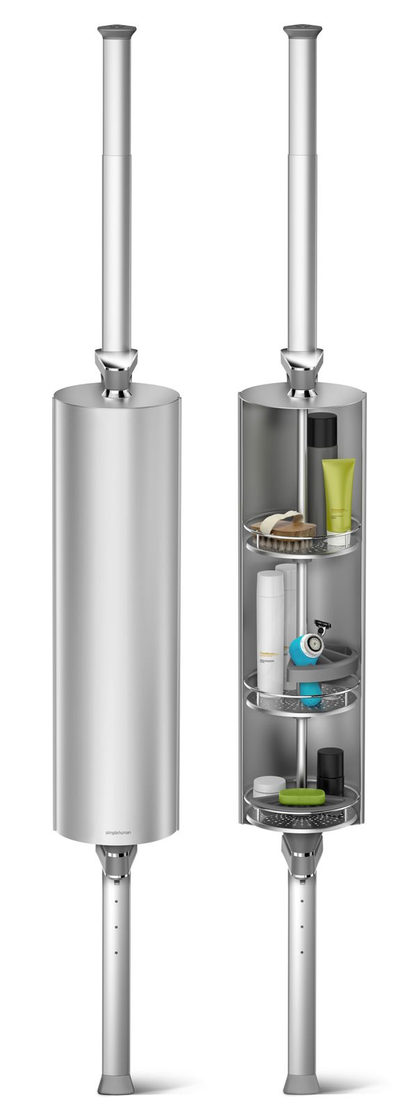 introducing the allnew aluminum spin cabinet u2014 an elegant and modern shower upgrade