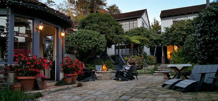 Carmel Bed and Breakfast Inn * Carmel Boutique Hotel * Carmel by the Sea Lodging