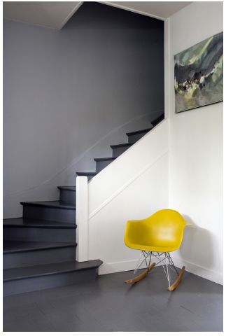 #eames #rar #rockerchair - keep it simple and elegant http://www.imbued.co.uk/charles-eames-inspired-rar-chair-yellow