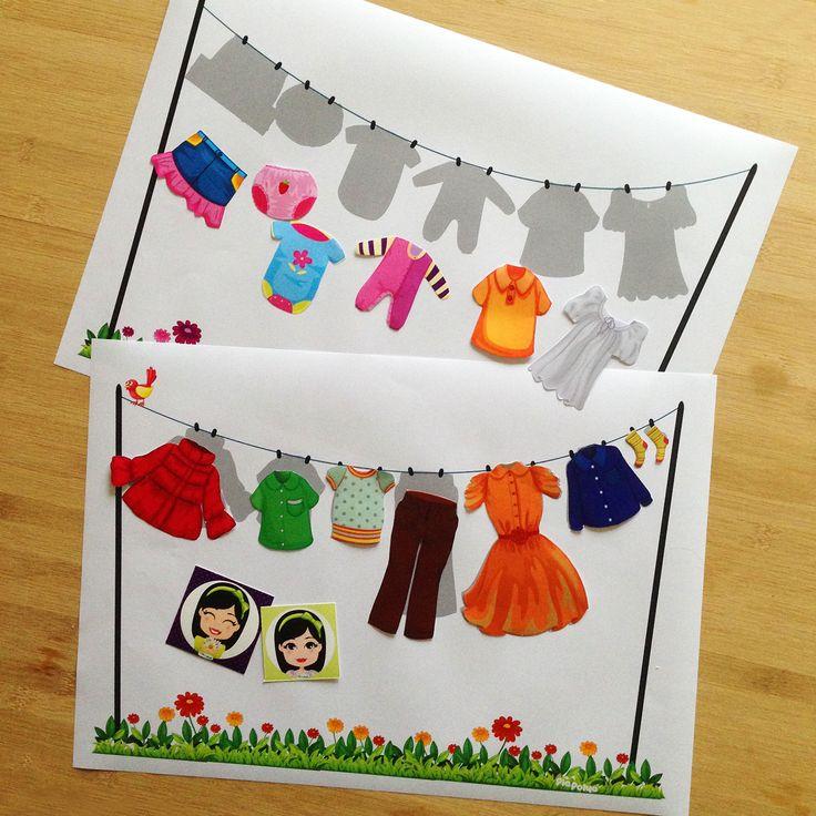 """""""Pia Polya Çamaşır Asma Etkinliği """"  Oyun, Pia Polya'nın tüm çocuklara hediyesi olup, fikir mülkiyeti Hotalı Ambalaj Tasarımına aittir."""