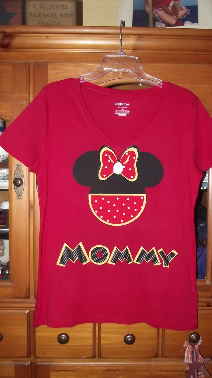 Design your own t-shirt birthday party - Minnie Mickey Mouse Disney Birthday Party Custom Red Black Yellow V Neck T Shirt Personalized Applique Head With Pants Tee Shirt Top 18 00 Via