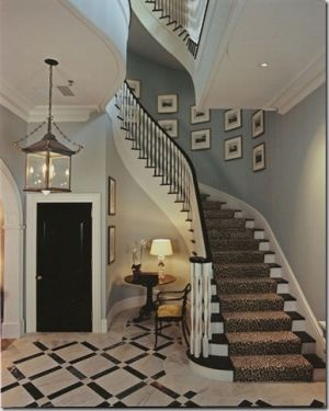 Ali, love the wall colour for a hallway... really warm and elegant for a victorian house...