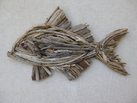 Driftwood Fish by SCHRODEKCREATIONS on Etsy, $150.00