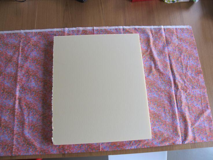 Pieke Wieke: Tutorial: Een (s)tof prikbord zelf maken.