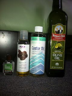 """DIY - all natural oil based face wash for acne and all skin types and a no shampoo """"no poo"""" hair cleansing and conditioner."""