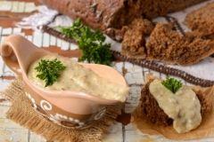 Грибной сливочный соус