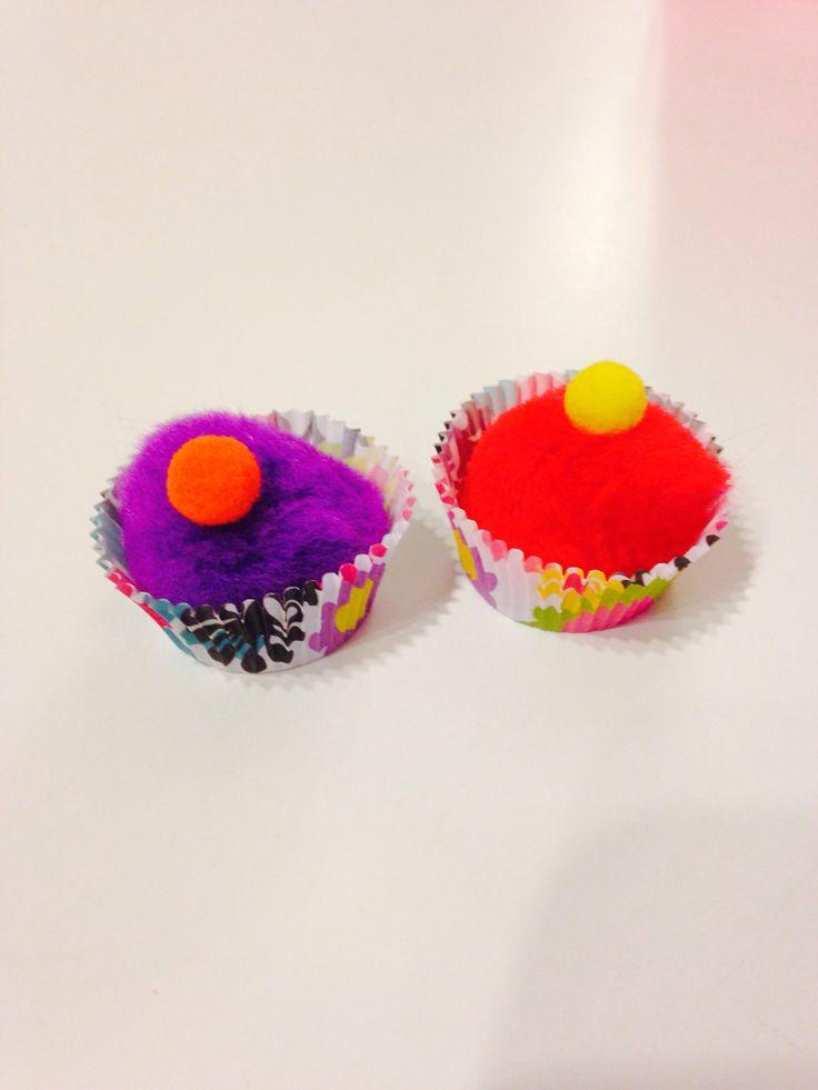 Girl Scout Cookie Nail Art: Girl Scouts - Mini Cupcake Swaps